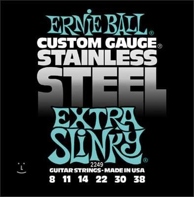 ERNIE BALL Stainless Steel Extra Slinky Struny pro elektrickou kytaru