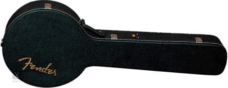 FENDER Standard Banjo Hardshell Case, Black Kufr pro banjo