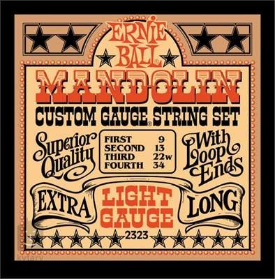 ERNIE BALL Stainless Steel Mandolin Light Struny pro mandolínu