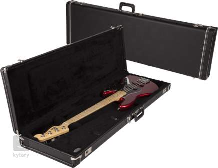 FENDER Multi-Fit Hardshell Case, Standard Balck w/ Black Acrylic Interior Kufr pro elektrickou baskytaru