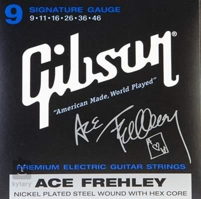 GIBSON Ace Frehley Signature Struny pro elektrickou kytaru