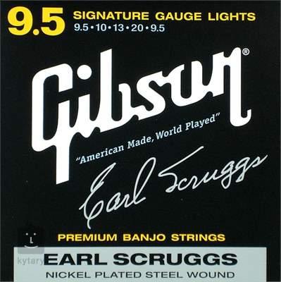 GIBSON Earl Scruggs ESL Struny pro pětistrunné banjo