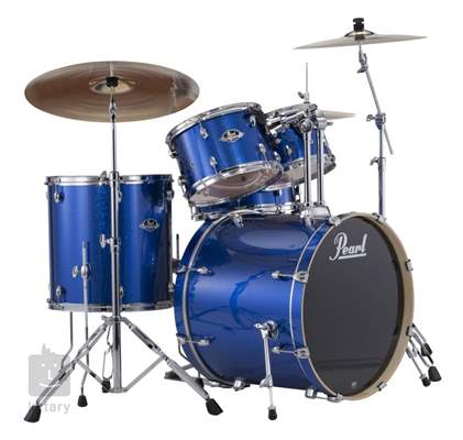 PEARL Export Fusion set Electric blue sparkle Bicí souprava s činely