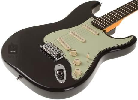 JAY TURSER JT-300V-BLK Elektrická kytara