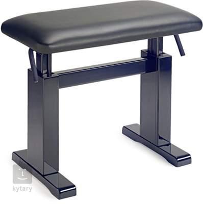 STAGG PBH 780 BKP LBK (poškozené) Hydraulická klavírní stolička