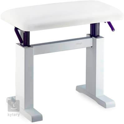 STAGG PBH 780 WHM SWH (použité) Hydraulická klavírní stolička
