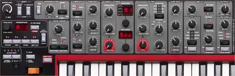 NORD LEAD A1 Virtuálně analogový syntezátor