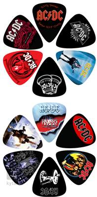 PERRI'S LEATHERS AC/DC Picks V Signature trsátka