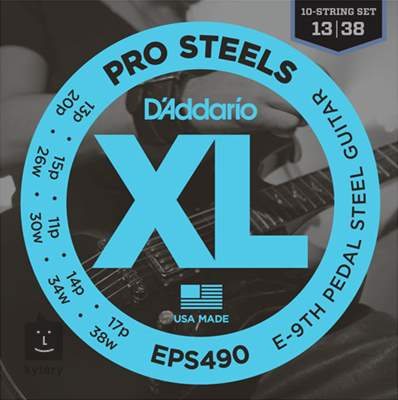 D'ADDARIO EPS490 Struny pro steel kytaru