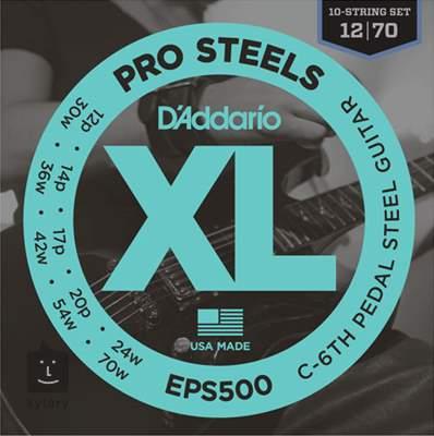 D'ADDARIO EPS500 Struny pro steel kytaru