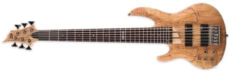 ESP LTD B-206 SM LH NS Levoruká elektrická baskytara