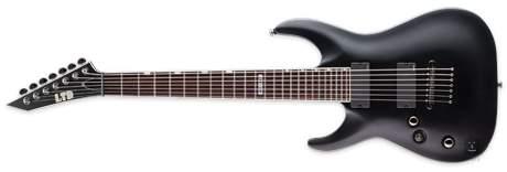 ESP LTD MH-417 LH BLKS Levoruká sedmistrunná elektrická kytara
