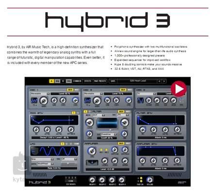 AKAI APC40 MKII USB/MIDI kontroler