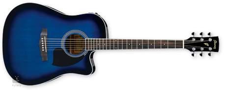 IBANEZ PF 15ECE TBS Elektroakustická kytara