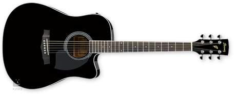 IBANEZ PF 15ECE BK Elektroakustická kytara