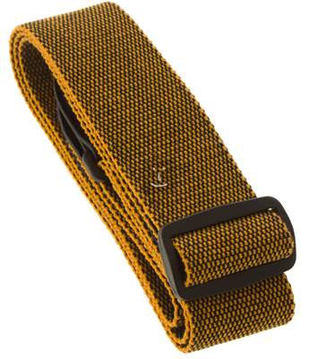"FENDER 2,5"" F Tweed Cotton - Gold/Black Kytarový popruh"
