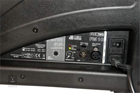 DB TECHNOLOGIES Flexsys FM 10 Aktivní pódiový odposlech