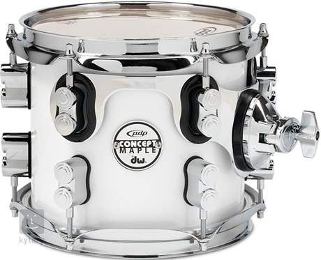 "PDP 8"" Concept Maple Pearlescent White Tom tom"