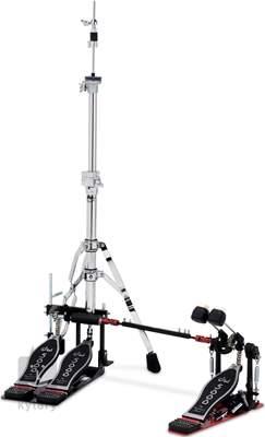 DW 5520-2 Double pedál k basovému bubnu a hi-hat stojan