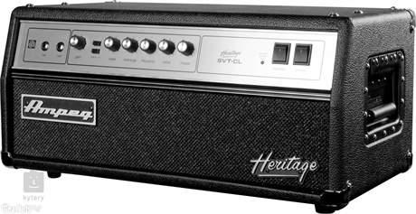 AMPEG Heritage SVT-CL Baskytarový lampový zesilovač
