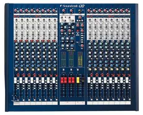 SOUNDCRAFT LX7ii16ch Analogový mixážní pult