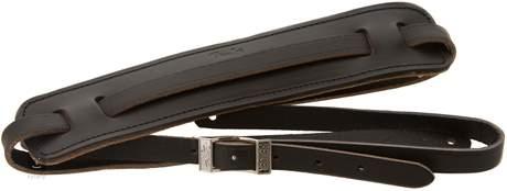 FENDER Deluxe Vintage Style Strap, Black Kytarový popruh