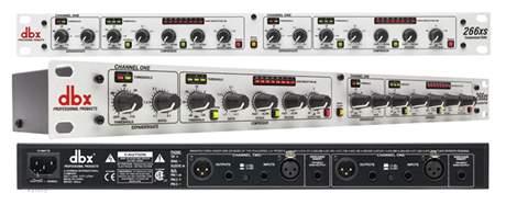DBX 166 XS Kompresor, limiter, gate