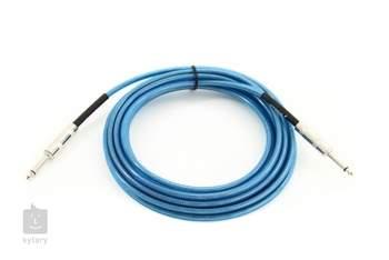 FENDER California Cable 10' Lake Placid Blue Nástrojový kabel