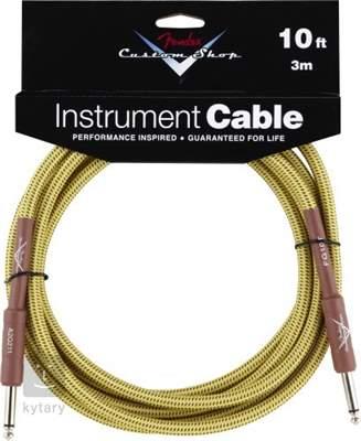 FENDER Instrument 10' Tweed Nástrojový kabel