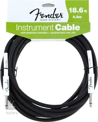 FENDER Instrument 18.6' BK Nástrojový kabel
