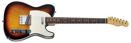 FENDER Vintage 62 Telecaster Bound Edges RW 3CS Elektrická kytara