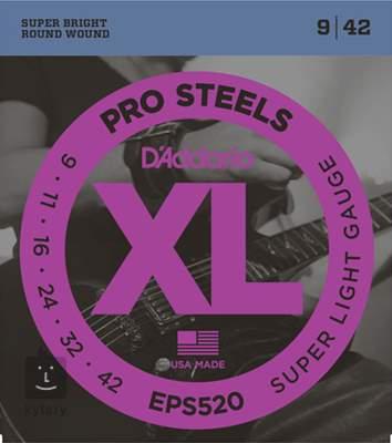 D'ADDARIO EPS520 Struny pro elektrickou kytaru