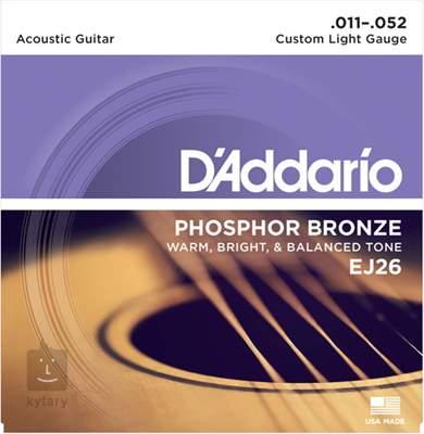 D'ADDARIO EJ26 Kovové struny pro akustickou kytaru