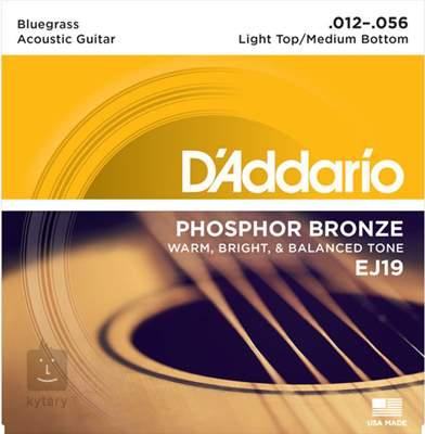 D'ADDARIO EJ19 Kovové struny pro akustickou kytaru