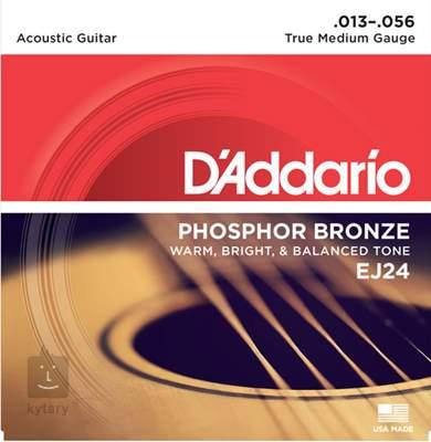 D'ADDARIO EJ24 Kovové struny pro akustickou kytaru