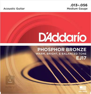 D'ADDARIO EJ17 Kovové struny pro akustickou kytaru