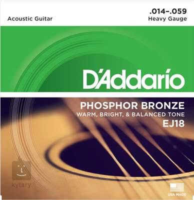 D'ADDARIO EJ18 Kovové struny pro akustickou kytaru