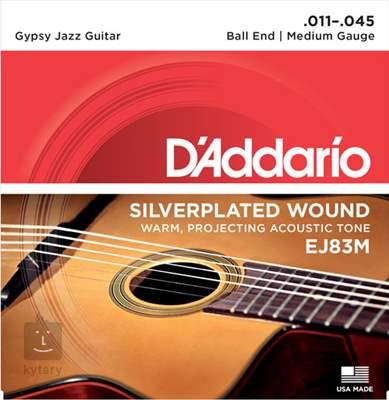 D'ADDARIO EJ83M Kovové struny pro akustickou kytaru