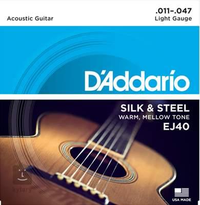 D'ADDARIO EJ40 Kovové struny pro akustickou kytaru