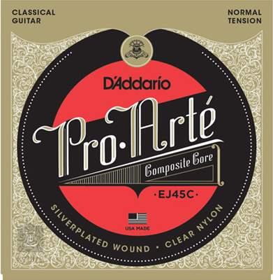 D'ADDARIO EJ45C Nylonové struny pro klasickou kytaru