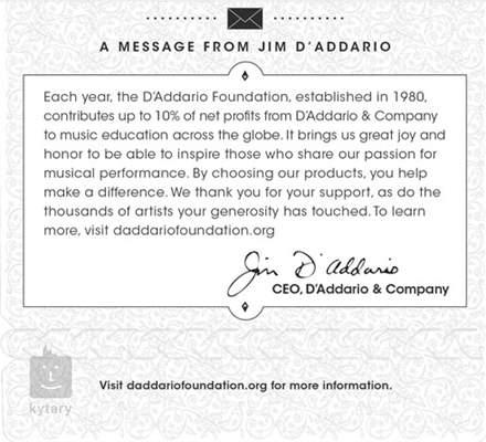 D'ADDARIO EJ49 Nylonové struny pro klasickou kytaru
