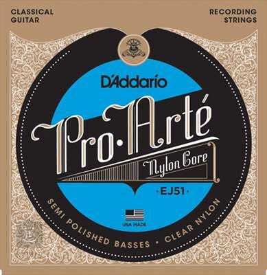 D'ADDARIO EJ51 Nylonové struny pro klasickou kytaru
