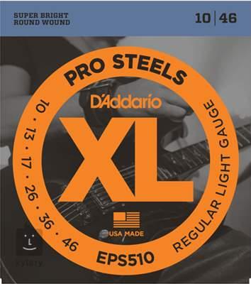 D'ADDARIO EPS510 Struny pro elektrickou kytaru