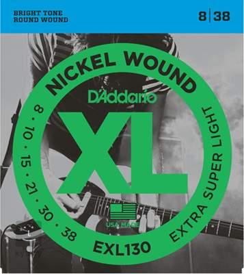 D'ADDARIO EXL130 Struny pro elektrickou kytaru