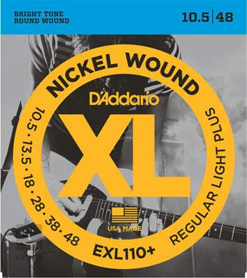 D'ADDARIO EXL110+ Struny pro elektrickou kytaru
