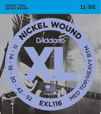 D'ADDARIO EXL116 Struny pro elektrickou kytaru