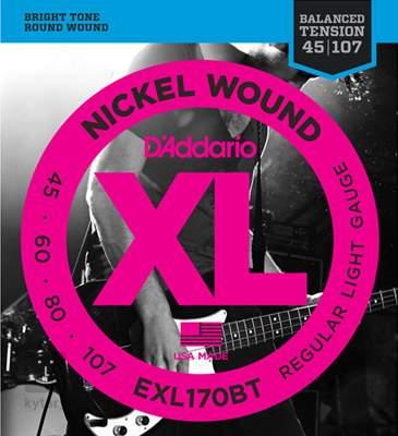 D'ADDARIO EXL170BT Struny pro baskytaru