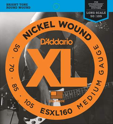D'ADDARIO ESXL160 double ball Struny pro baskytaru