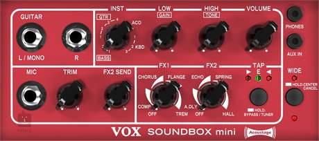 VOX Soundbox Mini GR Kytarové modelingové kombo