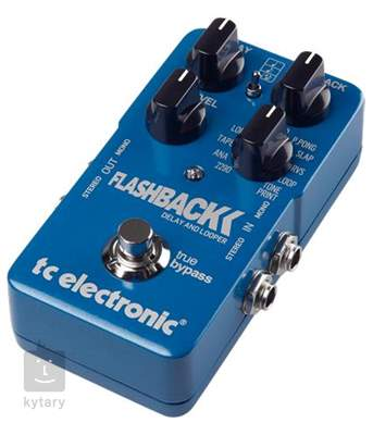 TC ELECTRONIC Flashback Delay a Looper Kytarový efekt